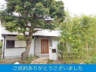 庭に竹林がある豪邸です!